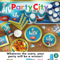 Party City - The Big Game Flyer