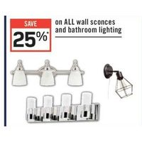 All Wall Sconces And Bathroom Lighting