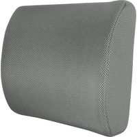 Pro.Point Black Memory Foam Lumbar Cushion - Grey