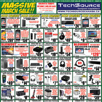 Tech Source - Massive March Sale! Flyer