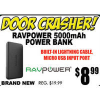 Ravpower 5000mAh Power Bank