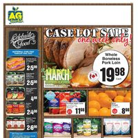 AG Foods - Weekly - Case Lot Sale Flyer