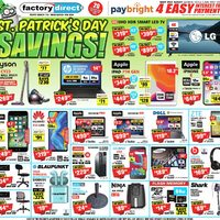 - St. Patrick's Day Savings! Flyer