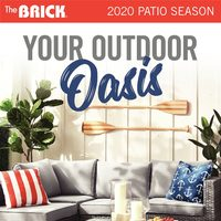 The Brick - 2020 Patio Season - Your Outdoor Oasis Flyer