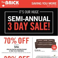 - Saving You More - Semi-Annual Sale! Flyer