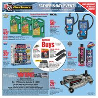 PartSource - Father's Day Event! Flyer