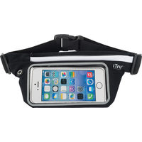 Universal Cellphone Waist Belt With LED Light