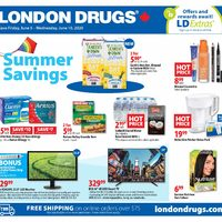 London Drugs - 6 Days of Savings - Summer Savings Flyer