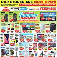 - Sizzling Summer Savings! Flyer