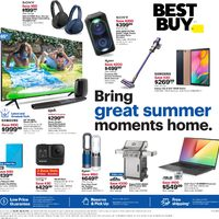 - Weekly - Bring Great Summer Moments Home Flyer