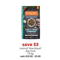 Instinct Raw Boost Dog Food