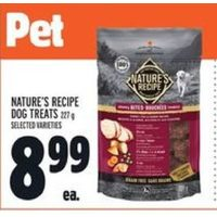 Nature's Recipe Dog Treats