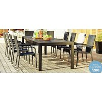 Livorno New York Table + Palermo Chair 11-Piece Set