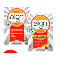 Align Probiotic Chewable Tablets or Capsules