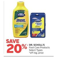 Dr.Scholl's Foot Care Products