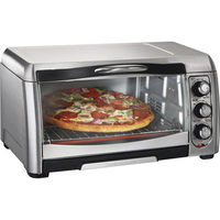 Hamilton Beach Easy-Reach Convection Toaster Oven