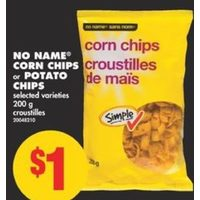 No Name Corn Chips Or Potato Chips