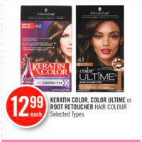 Keratin Color, Color Ultime Or Root Retoucher Hair Colour