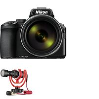 Nikon Coolpix P950 Digital Camera With 6MP 83X Optical Zoom And Rode Compact In-Camera Microphone