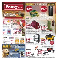 PeaveyMart - Load Up On Fall Deals Flyer
