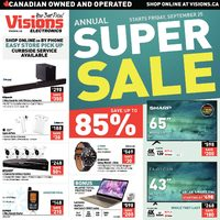 Visions Electronics - Annual Super Sale Flyer