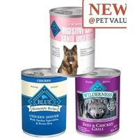 Blue Buffalo Life Protection, Wilderness & True Solutions Canned Dog Food