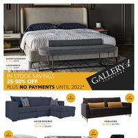 Gallery 1 Furniture - In Stock Savings Flyer