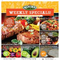 Choices Markets - Weekly Specials Flyer