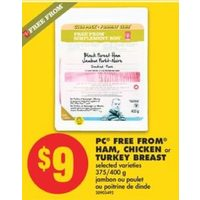 PC Free From Ham, Chicken Or Turkey Breast