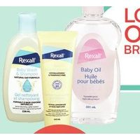 Rexall Brand Baby Toiletries