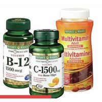Nature's Bounty Vitamins, Minerals or Supplements