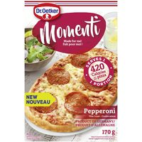 Dr.Oetker Momenti Or Giuseppe Garlic Fingers Or Panini Handheld Pizza