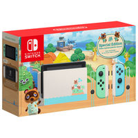 Nintendo Switch Animal Crossing New Horizons Edition