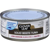 Clover Leaf White Tuna Or Flaked Pink Salmon