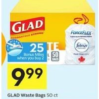 Glad Waste Bags
