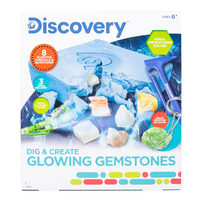 Discovery Science Kits Dig & Creats Glowing Gemstones