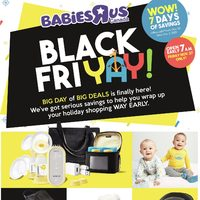 Babies R Us - Black Friyay! Flyer