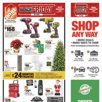 Home Depot - Weekly - Black Friday on Now Flyer