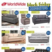 Worldwide Furniture - Black Friday Sale Flyer