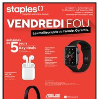 Staples - Black Friday Sale Flyer