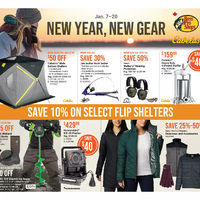 Bass Pro Shops - New Year, New Gear Flyer