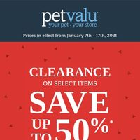 - Clearance Sale Flyer