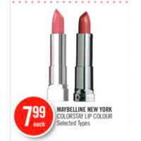 Maybelline New York Colorstay Lip Colour