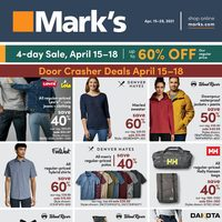 Mark's - 2 Weeks of Savings Flyer