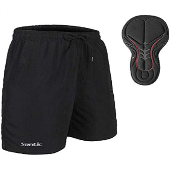 3. Sleeper Pick: Santic Men's 4D Padded Bikes Shorts