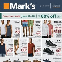 Mark's - Weekly Deals - Summer Sale Flyer