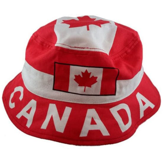 5. Best Fashion Accessory Gift: Canada Country Flag Bucket Hat