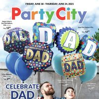 Party City - Weekly Deals - Celebrate Dad Flyer