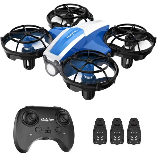 6. Best for Kids: Holyton HS330 Hand Operated Mini Drone