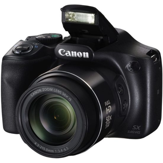 3. Camera with the Best Optical Zoom: Canon PowerShot SX540